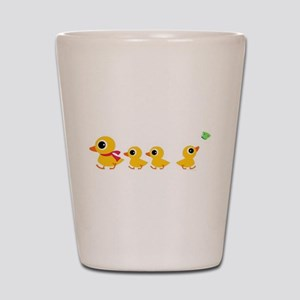 The distracted Duck Shot Glass