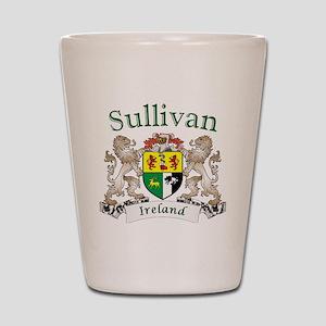 Sullivan Irish Coat of Arms Shot Glass