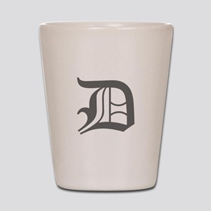 D-oet gray Shot Glass
