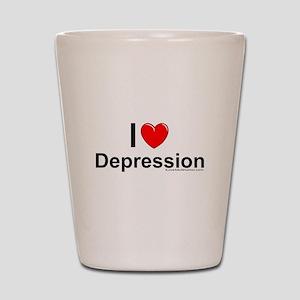 Depression Shot Glass