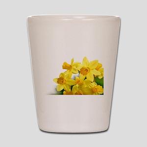 Daffodils Style Shot Glass