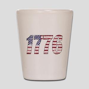 1776 Flag Shot Glass