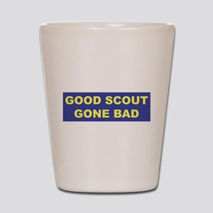 Good Scout Gone Bad (Blue) Shot Glass