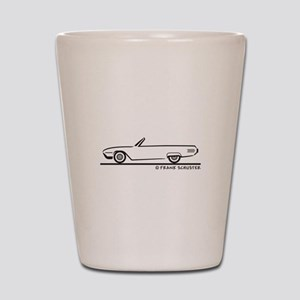 1961 Ford Thunderbird Convert Shot Glass
