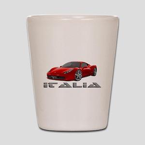 Ferrari Italia Shot Glass