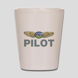 RV Pilot Shot Glass