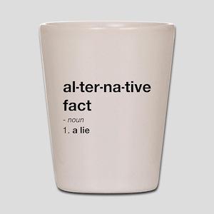 Alternative Facts Definition Shot Glass