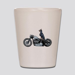 Dobercycle Shot Glass