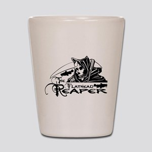 FLATHEAD REAPER Shot Glass