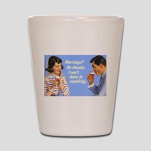 Marriage? Shot Glass