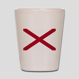 Alabama Flag Shot Glass