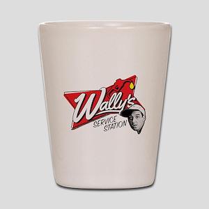 Wally's Service Station Shot Glass