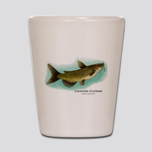 Channel Catfish Shot Glass