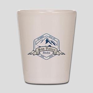 Sun Valley Ski Resort Idaho Shot Glass