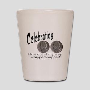 55 Birthday Whippersnapper Shot Glass