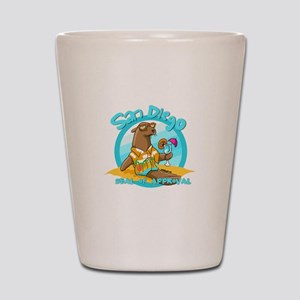 San Diego Seal of Approval Shot Glass