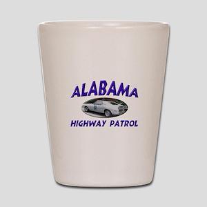 Alabama Highway Patrol Shot Glass