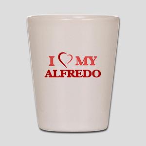 I love my Alfredo Shot Glass