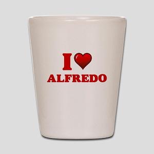 I love Alfredo Shot Glass