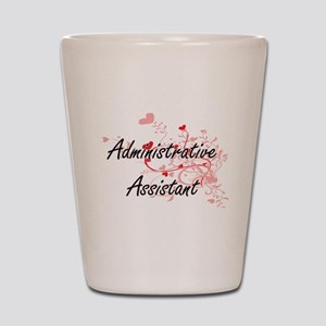 Administrative Assistant Artistic Job D Shot Glass