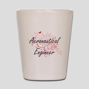 Aeronautical Engineer Artistic Job Desi Shot Glass