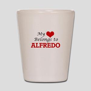 My heart belongs to Alfredo Shot Glass