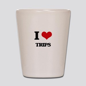 I love Trips Shot Glass