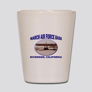 March Air Force Base Shot Glass