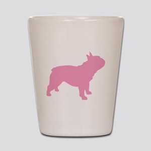 French Bulldog Pink Shot Glass