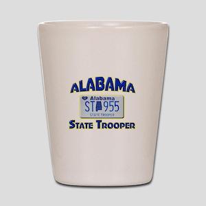 Alabama State Trooper Shot Glass