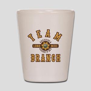 Longmire Team Branch Shot Glass