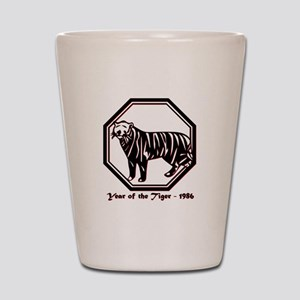 Year of the Tiger - 1986 Shot Glass