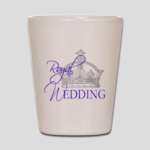 Royal Wedding London England Shot Glass