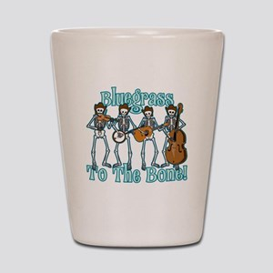 Bluegrass Bones! Shot Glass