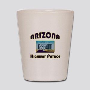 Arizona Highway Patrol Shot Glass