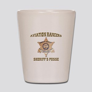 Maricopa County Aviation Rangers Shot Glass