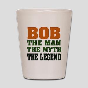 BOB - the Legend Shot Glass