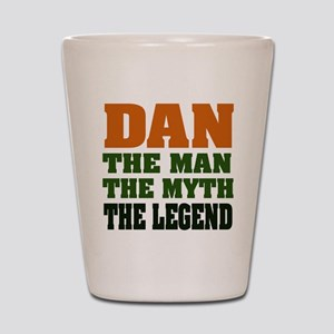 DAN - The Legend Shot Glass