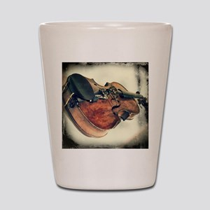 modern art Shot Glass