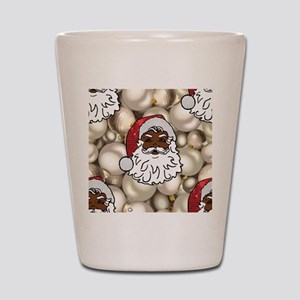 african santa claus Shot Glass