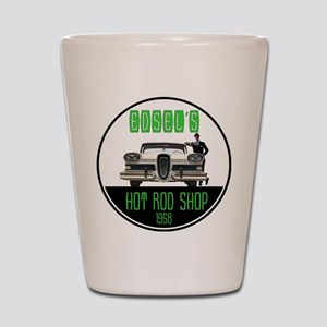 Edsel's Hot Rod Shop Shot Glass