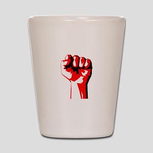 Power Fist Shot Glass