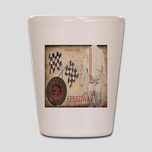 Speedway Shot Glass