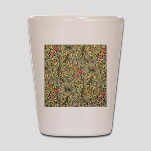Morris Golden Lily Shot Glass