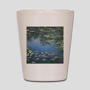 Waterlilies by Claude Monet Shot Glass