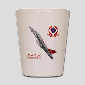 vfA102logo10x10_apparel copy Shot Glass