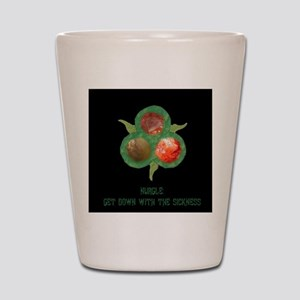 Down with the sickness 2 Blk Shot Glass