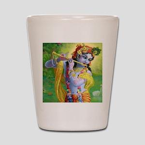 I Love you Krishna. Shot Glass