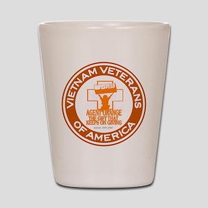VVA Orange Shot Glass