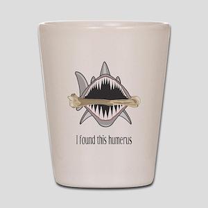 Funny Shark Shot Glass